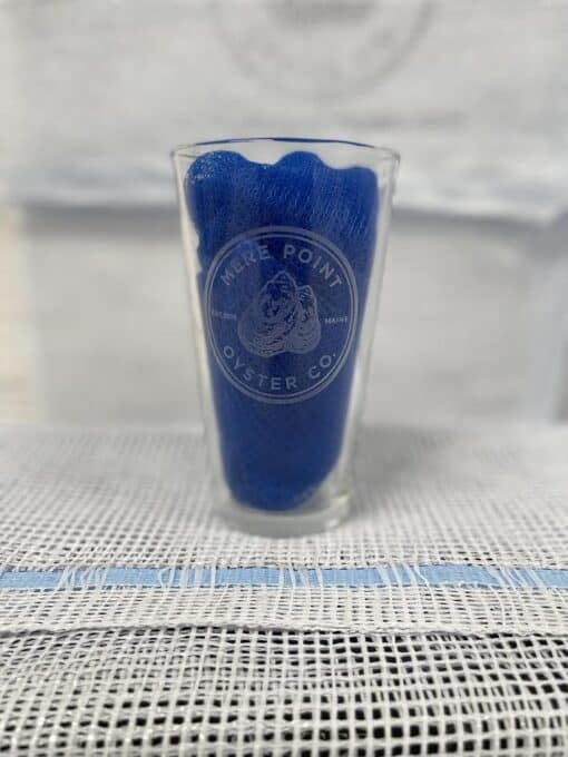 MPOC logo etched pint glass
